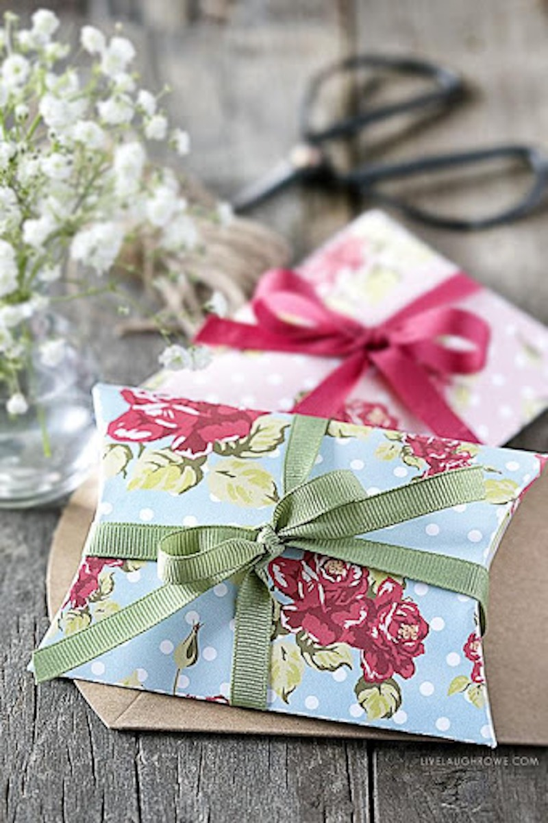 Best Pillow Box Packaging Ideas Shabby Chic