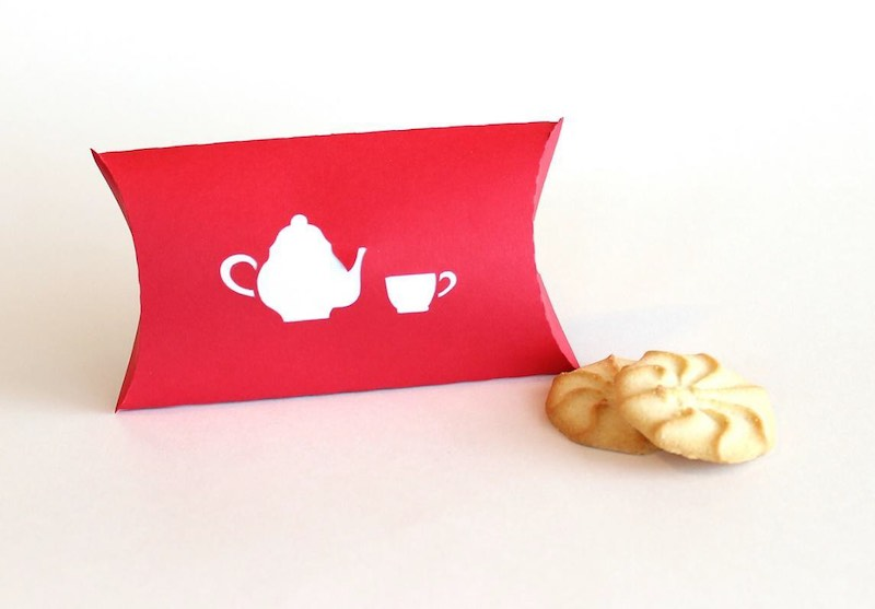 The Exotic Tea Party Favor Boxes
