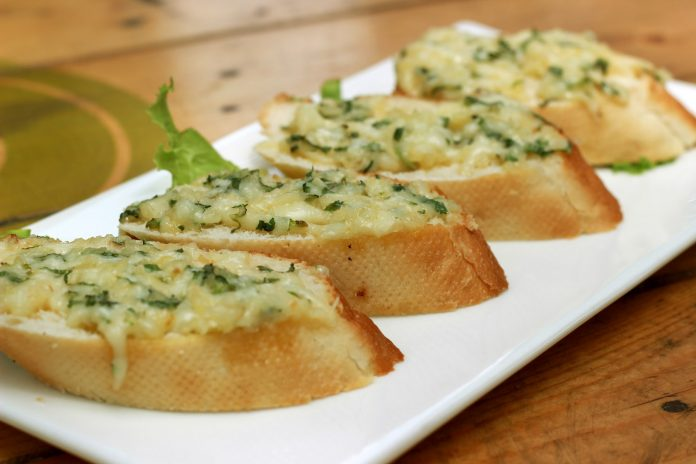 Cauliflower Garlic Bread Recipe
