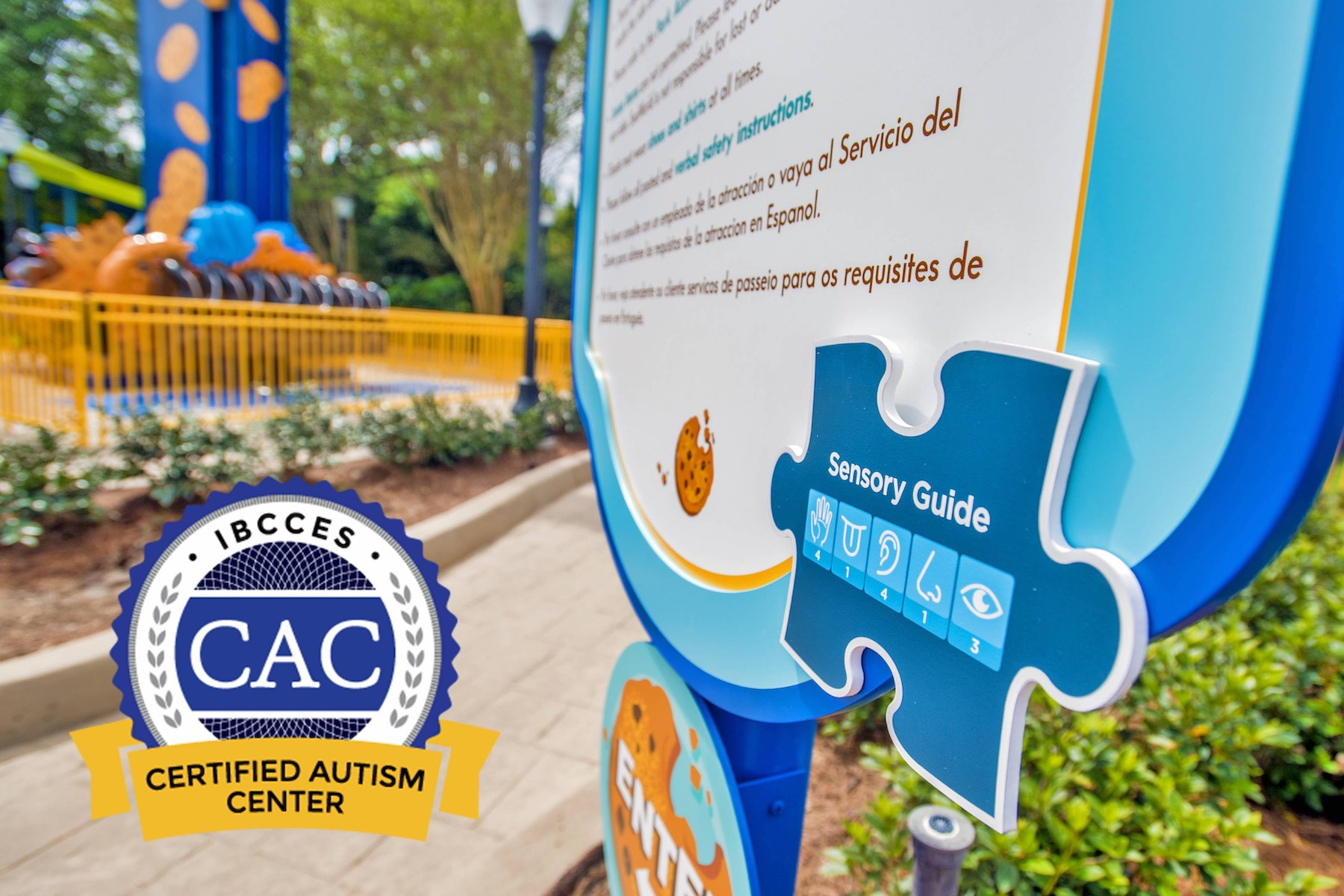 SEAWORLD ORLANDO IS NOW A CERTIFIED AUTISM CENTER!