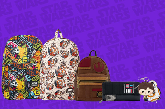 Pop In A Box Star Wars LoungeFly