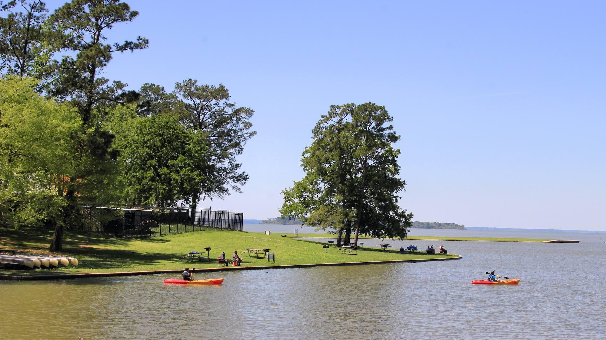 Lake Livingston Camping