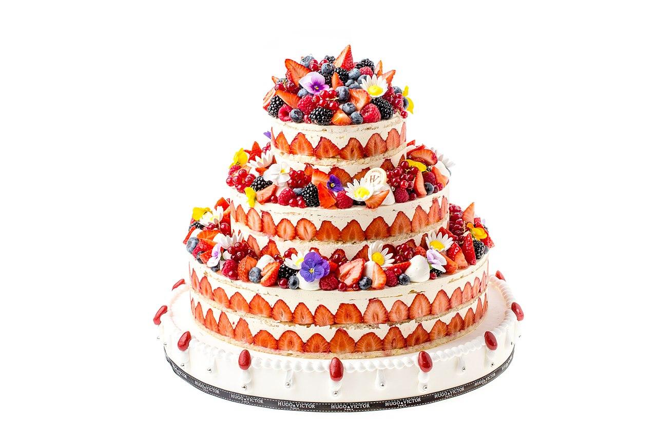 cake fruits