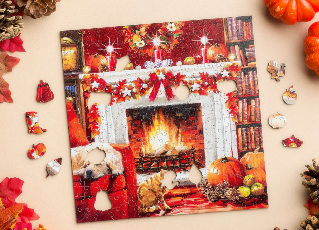Celebrate Thanksgiving and the Holidays with Wentworth Wooden Puzzles