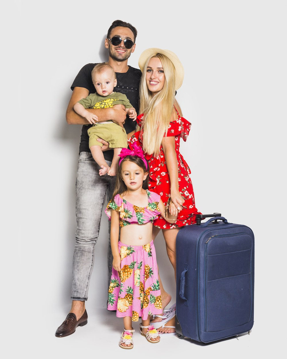First Holiday with Your Baby Girl