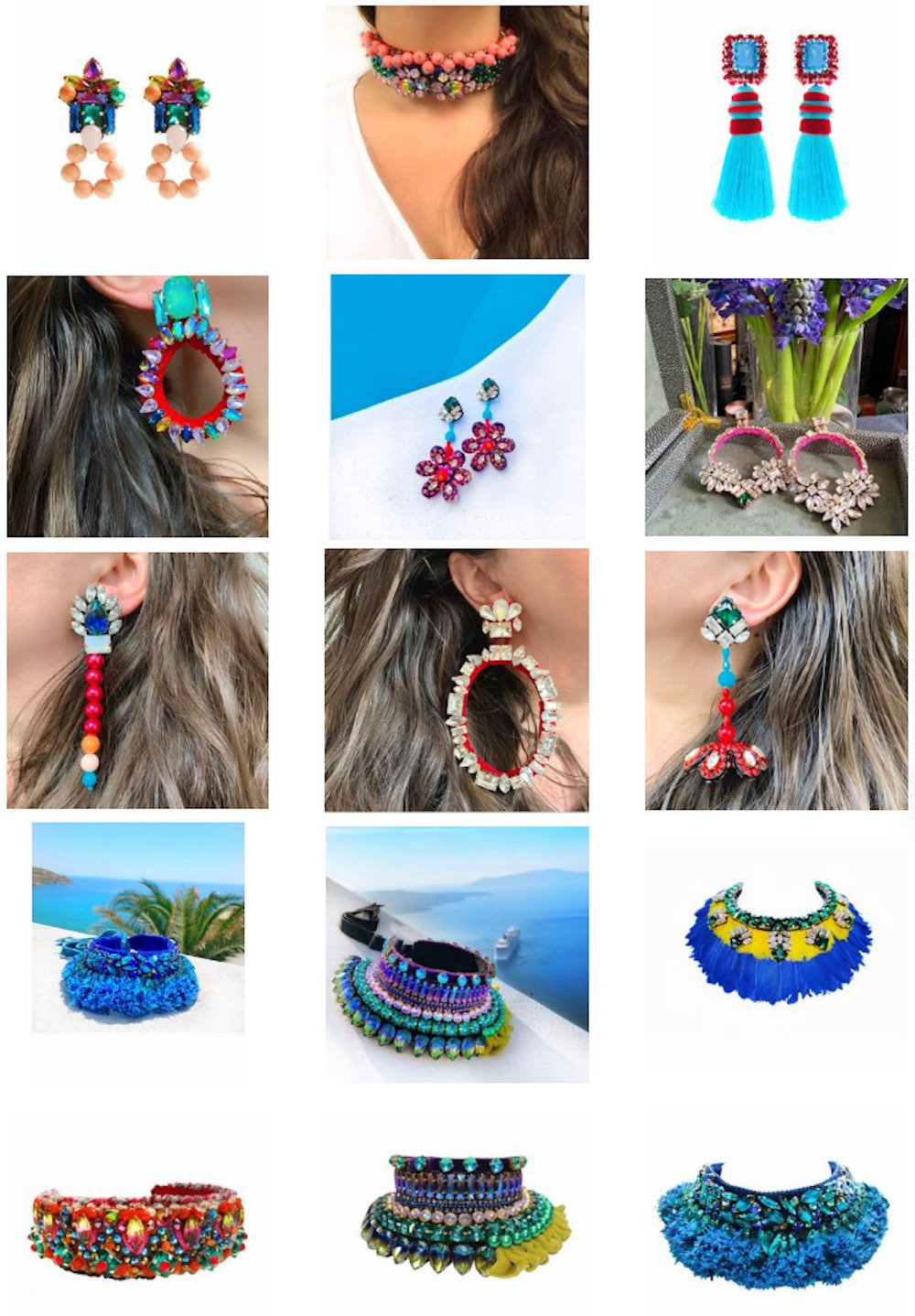luxury bright & bold jewellery by Jolita