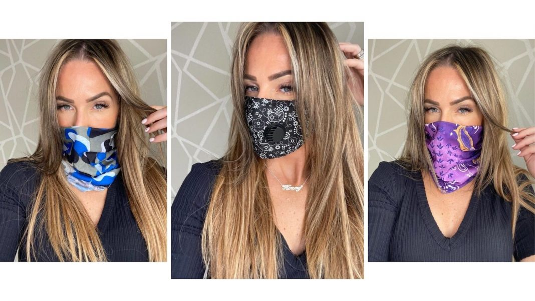 New Face Coverings, Dresses and More at IKRUSH